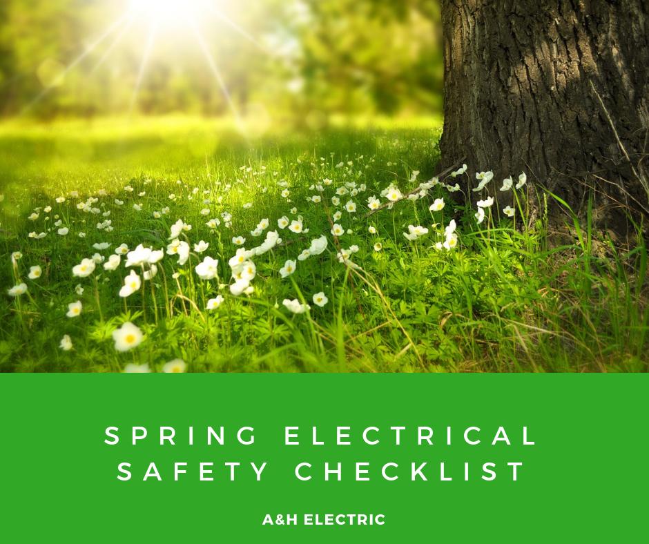 Spring Electrical Safety Checklist