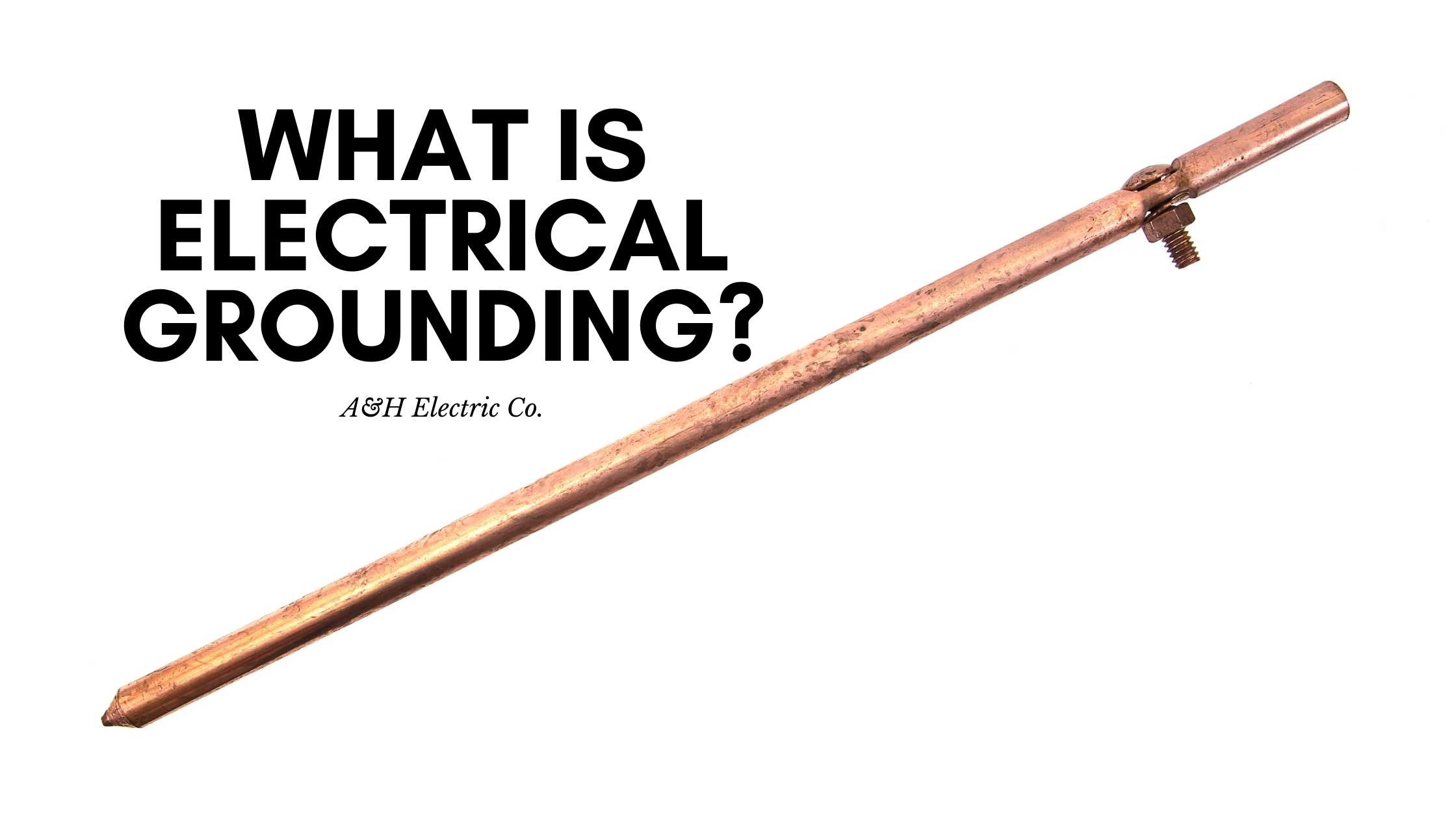 electrical grounding rod